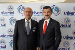 İzmir Çiğli Belediye Başkanı Metin Solak, İzmir Buca Belediye Başkanı Ercan Tatı