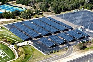 Yingli Solar - örnek proje - otopark