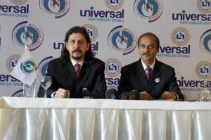 Doç.Dr. Alper Çelik ve Dr. Suren Ugale