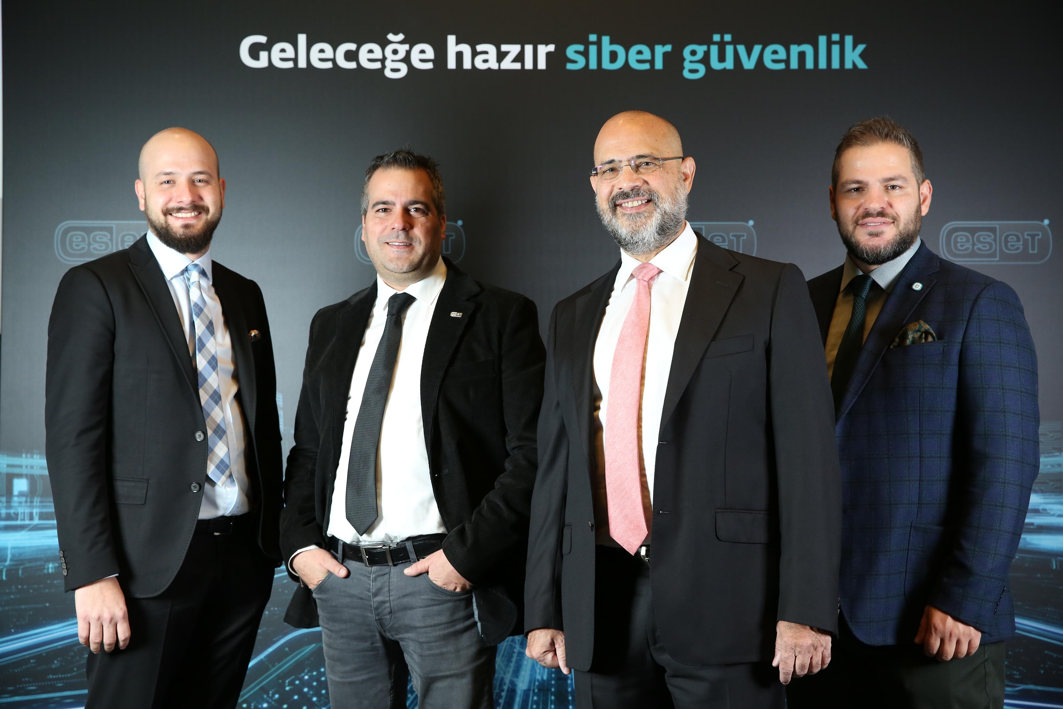 ESET Türkiye Yönetim Kadrosu